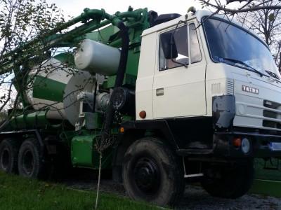 Tatra 815 autodomiešavač + pumpa